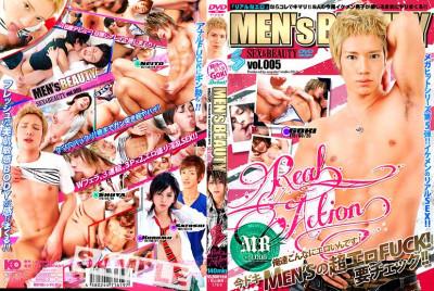 Men's Beauty Vol.005 Real Action (cumshot video, queer male, finger).