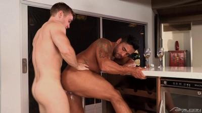 Heated 2, Scene 05: Gabriel Cross, Bruno Bernal