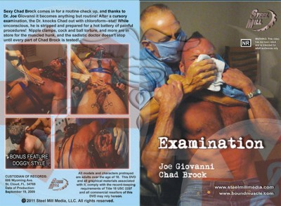 Examination (Jim Rhatt, Steel Mill Media)