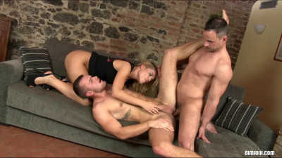 New Apartment Bisexual Warm Up Party Alex Stan, Andy West, Sweet Cat (2015)
