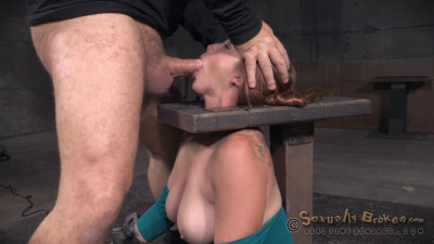 Big Breasted Bella Rossi Is Bound And Brutal Shackled Rough Sex Deepthroat While Vibrated