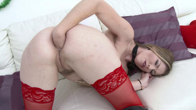 Ella Nova self-fisting and hardcore Dp with huge cocks (2016)