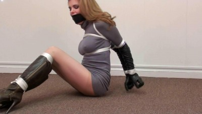 Candle Boxxx Tied in a Sweaterdress and Knee Boots! Part One