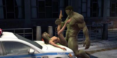 Hulk Pussy Smash