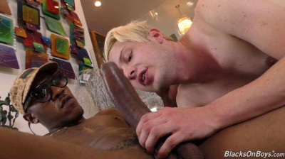 Huge Cock For Blond Tight Whore