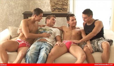 Peters Twins with Vadim & Florian
