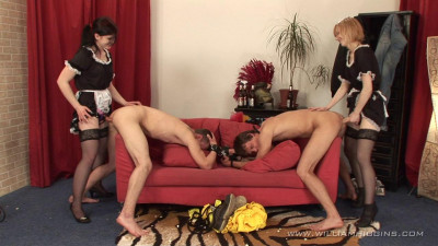 Str8Hell-WilliamHiggins - Mad Maids