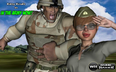 Womb Raide ln The Army Now 3D  HD
