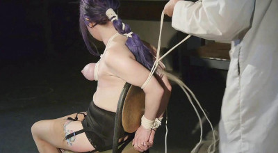 A Long Day of Hard Bondage for Rachel — Dr. Straps Disciplined — Part 2