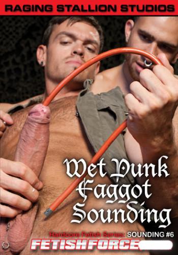 Sounding  6 Wet Punk Faggot Sounding