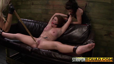 Pain Slut Aryah May Begs Brooklyn Daniels And Mila Blaze for Lesbian Domination (2014)
