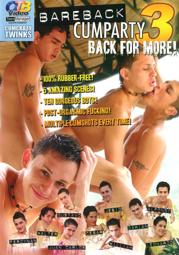 Bareback Cumparty 3