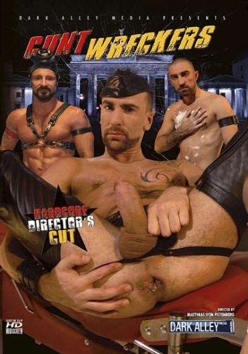 Bareback Leather Cunt Wreckers (HD) – Matthieu Paris, David Castan, Cristian Torrent