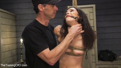 Bondage Slut Eden Sin Submits to Deep Anal Discipline Training