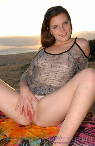 Alice Luv see thru in sunset