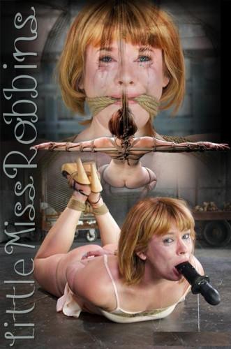 Little Miss Robbins In BDSM hard play