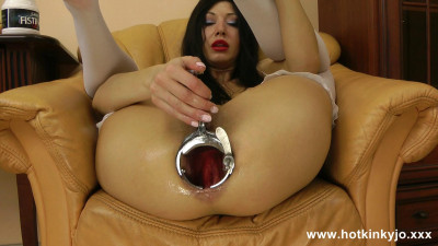 Long dildo full in open with xo speculum ass (2016)