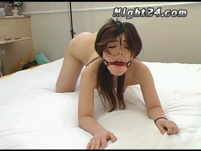 Sweet and pretty Japanese bitch in hot BDSM