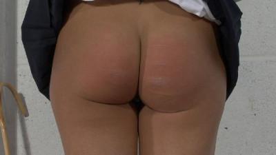 Hard spank for super ass