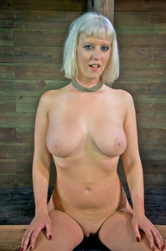 Cherry Torn Lashed To A Beam And Stuffed Full Of Cock From Both Ends HD 720p