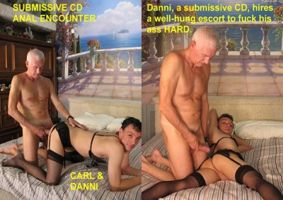 Submissive CD Anal Encounter (2010)