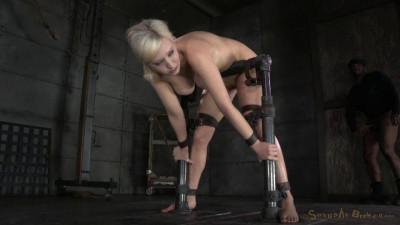 Bent Over In Strict Device Bondage (21 Nov 2014) Sexually Broken