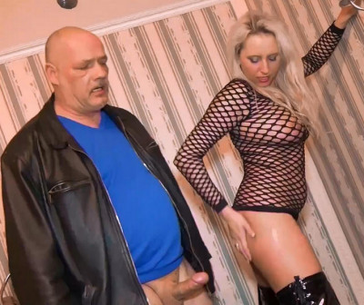The third series of couples - cuckold husband and beauty Natalie
