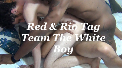 Red & Rio Tag Team The White Boy