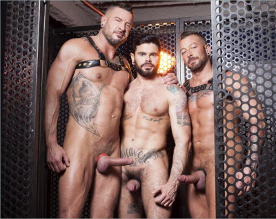 Mario Domenech, Dolf Dietrich & Hugh Hunter