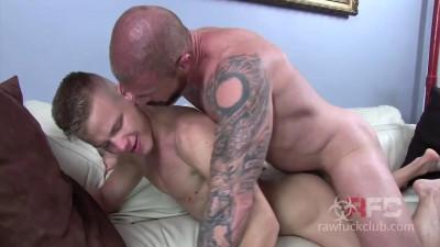 Raw Fuck Club - Rocco Steele and Joseph Rough.