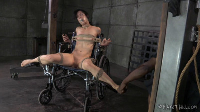 The way she moves under my flogger