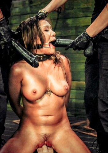 Slave Mena Li More Training