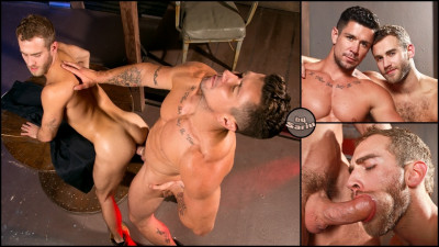 Hung Americans — Part 1, scene 01: Trenton Ducati, Shawn Wolfe