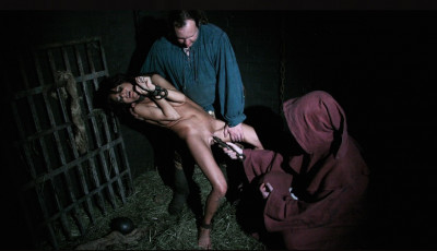 Fortune Teller Janessa is Punished with Gang Bang Pussy Torment & BDSM Fun for Water