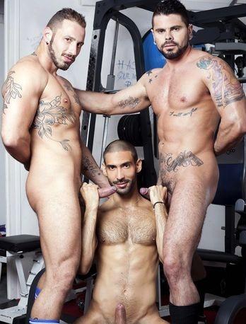 Alejandro Dumas, Antonio Miracle, Mario Domenech