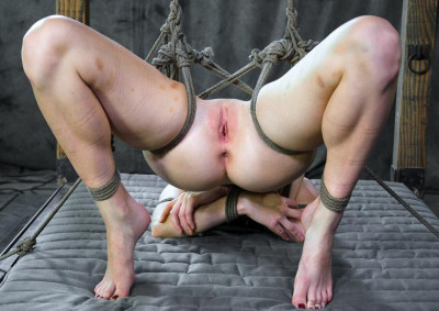 Rope bondage and submission