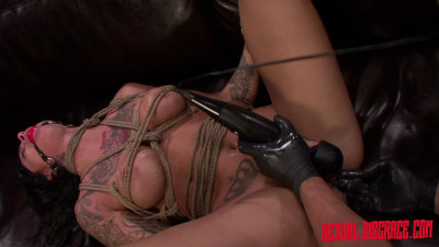 Alby Rydes Becomes The Perfect Sex Slave For Rough Sex In Rope Bondage (2015)