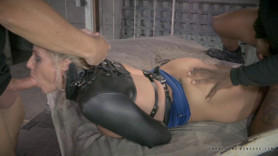 RTB — Blonde Angel bound and fucked doggystyle with epic deepthroat! — Oct 21, 2014 - HD