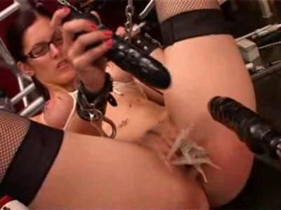 Machine and hot wax torture
