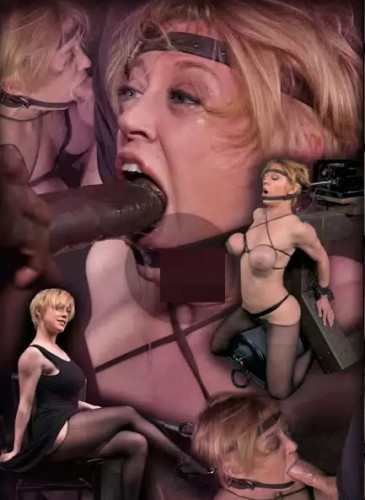 Darling Brutally Facefucked In Blowjob Machine, Massive Sybian Orgasms!