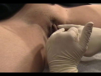 Belly Button and Clithood Piercing Video