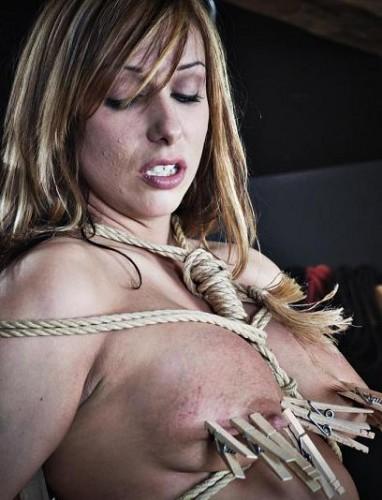 Hot sweetie in BDSM