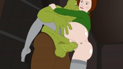 Shrek Banging With His Green