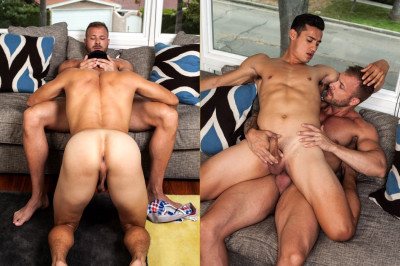 Latin Jock, Angel Santiago gets his ass fucked by Gym Hunk Austin Wolf