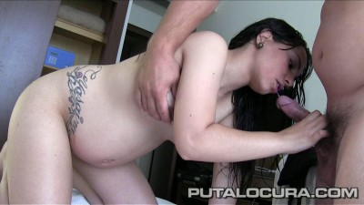 Adira and Desire get their horny pussy and mouth stuffed with the hard cock of young stud lover!