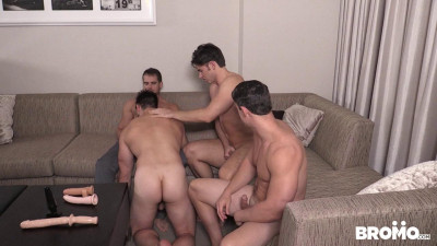 Four dick in one place!