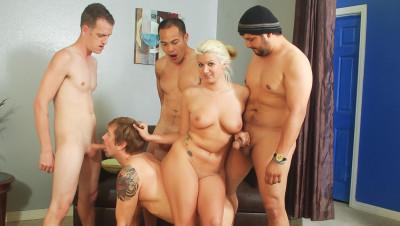 Bi Cuckold Gang Bang #06, Scene #01