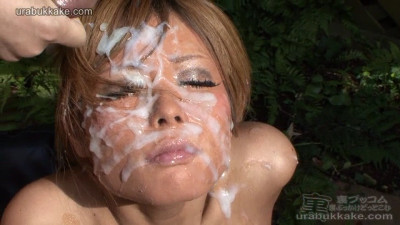 Super Tanned Rio Gets 50 Thick Facials Outdoors