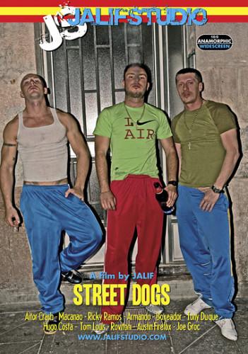 Street Behind The Scenes (muscles international, bareback anal, media video)!