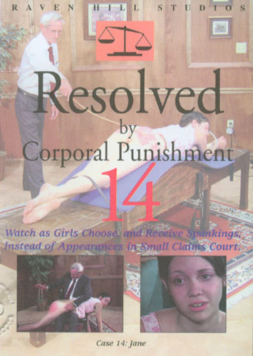 Resolved By Corporal Punishment 14 - Authentic Spankings DVD